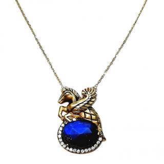 Atasay Pegasus Pendant Necklace