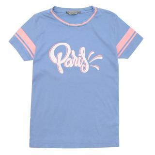 Bonpoint Blue Paris T-Shirt