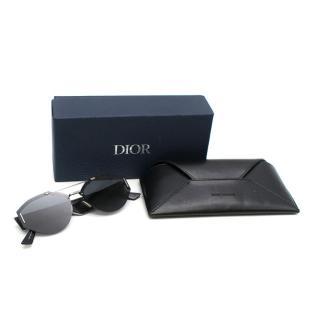 Dior Homme 0233S Palladium & Black Sunglasses