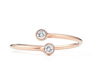 Tiffany & Co. Elsa Peretti Diamond Hoop Ring
