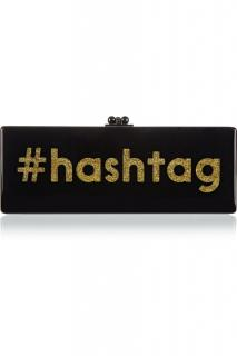 Edie Parker 'Hashtag' Clutch Bag