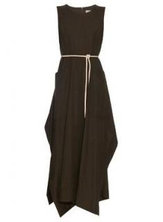 Sportmax Khaki Cargo Dress