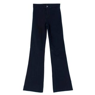 J Brand Indigo Flared Jeans
