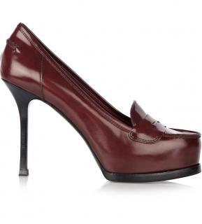 Yves Saint Laurent Tribtoo loafer-style pumps