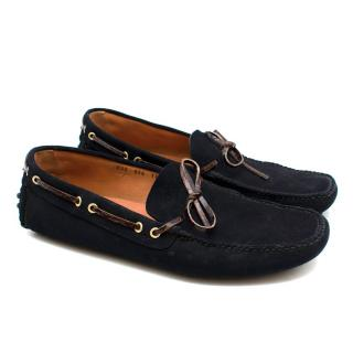 The Original Car Shoe Loafers in Suede