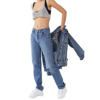 Vintage Levi�s 501 Straight Leg Jean