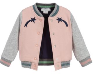 Stella McCartney Kid's Colourblock Bomber Jacket