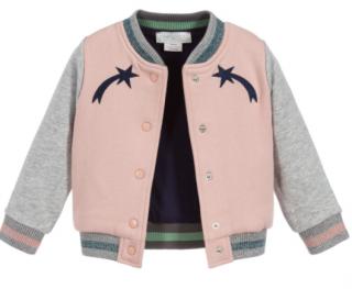 Stella McCartney Kid's Colourblock Bomber Jacket