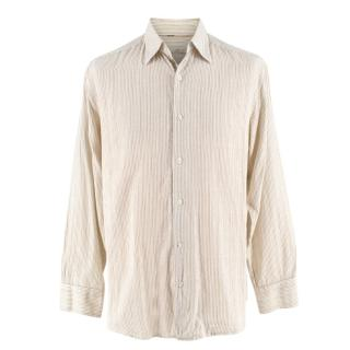 Tommy Bahama Striped Cotton Button Up Shirt