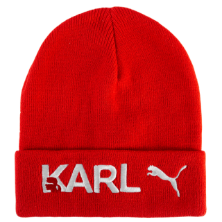 Karl Lagerfeld x Puma Red Knit Beanie