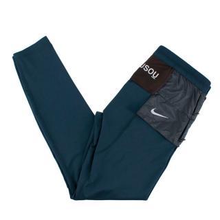 Nike x Gyakusou Blue Gym Leggings