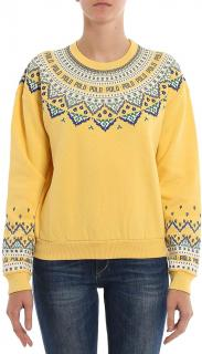 Polo Ralph Lauren Yellow Crew Neck Jumper