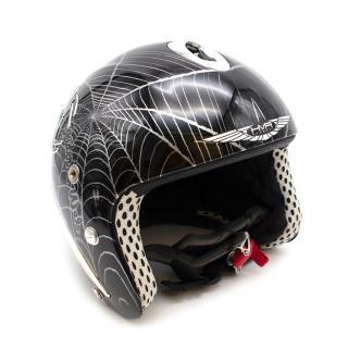 HMR Helmets Black Spider's Web Ski/Snowboard Helmet
