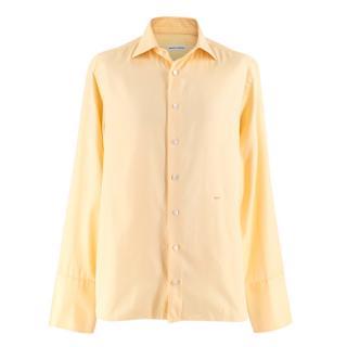 Donato Liguori Yellow Bespoke Tailored Shirt