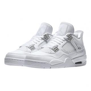 Nike Air Jordan Pure Money White High Top Sneakers