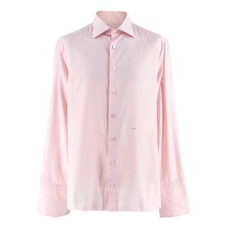 Donato Liguori Pink Bespoke Tailored Shirt