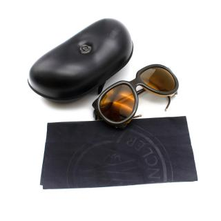 Moncler Dark Brown Altitude Sunglasses