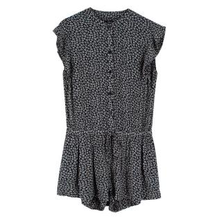 Rails Floral Ruffled Playsuit
