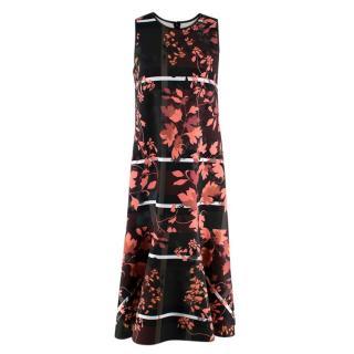 Clover Canyon Floral Straight Cut Sleeveless Dress