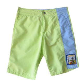 Vilebrequin lime green BRAZIL swim shorts