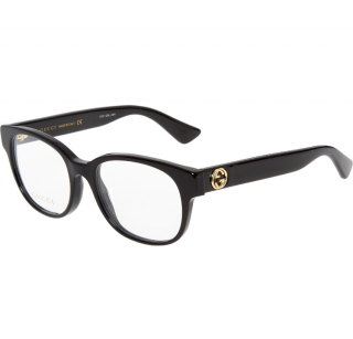 Gucci black square optical frames