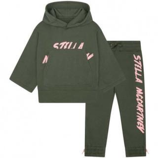Stella McCartney girl's green track suit