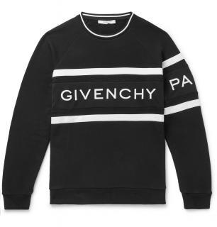 Givenchy black and white GIVENCHY logo Sweatshirt