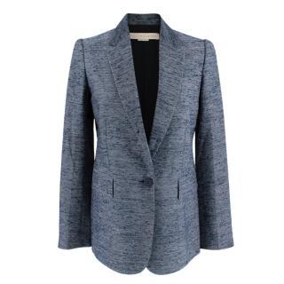 Stella McCartney Navy Textured Blazer