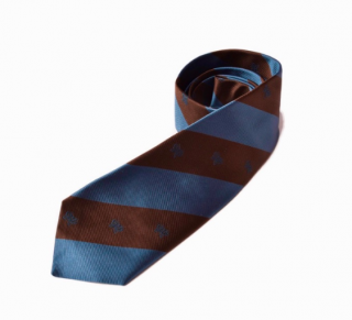 Bottega Veneta Striped Silk Tie