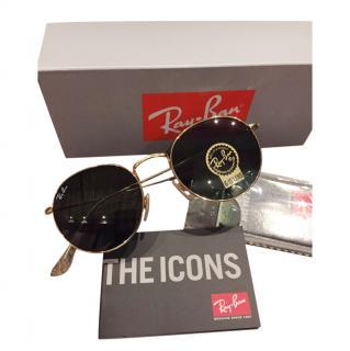 Ray Ban Icons 3447 Round Sunglasses
