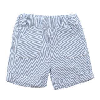 Tartine et Chocolat Blue & White Pinstripe Shorts