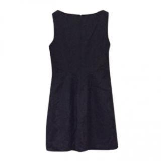 Versus Versace little black sleeveless dress
