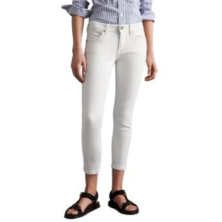Burberry Brit white skinny jeans