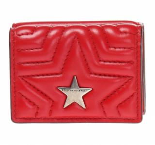 Stella McCartney Stella Star Quilted Wallet