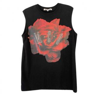 McQ by Alexander McQueen Sleeveless Printed Vesr