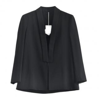 Brunello Cucinelli Black Wool Tailored Jacket