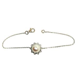 Bespoke French Ayoka pearl bracelet