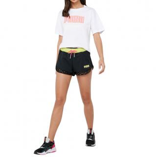 Sophia Webster x Puma Black Fishnet Detail Shorts