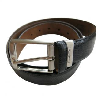 Emilio Tucci Handmade lizard skin belt