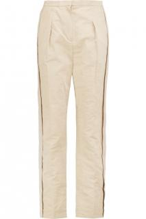 Lanvin Beige Tailored Trousers