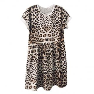 ROBERTO CAVALLI leopard print dress 12 years