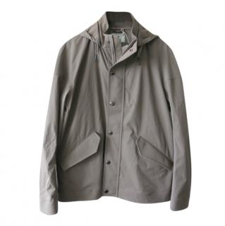 Kired by Kiton taupe waterproof jacket