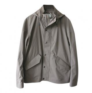 Kired by Kiton taupe waterproof jacket