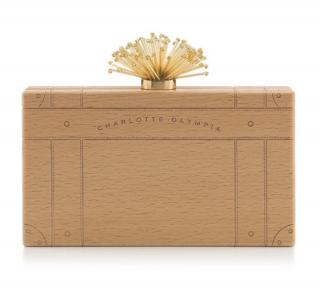 Charlotte Olympia Wooden Pandora Clutch