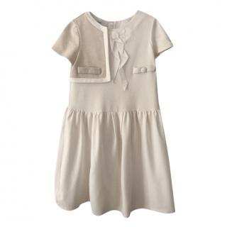 I PINCO PALLINO cream girl's dress