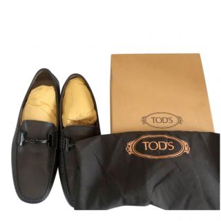 Tom's Gommino men's brown leather loafers 41.5 New in box