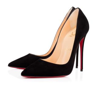 Christian Louboutin Black Suede So Kate 120