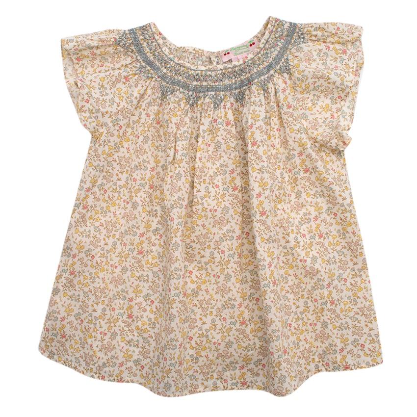 Bonpoint Floral Babydoll Top