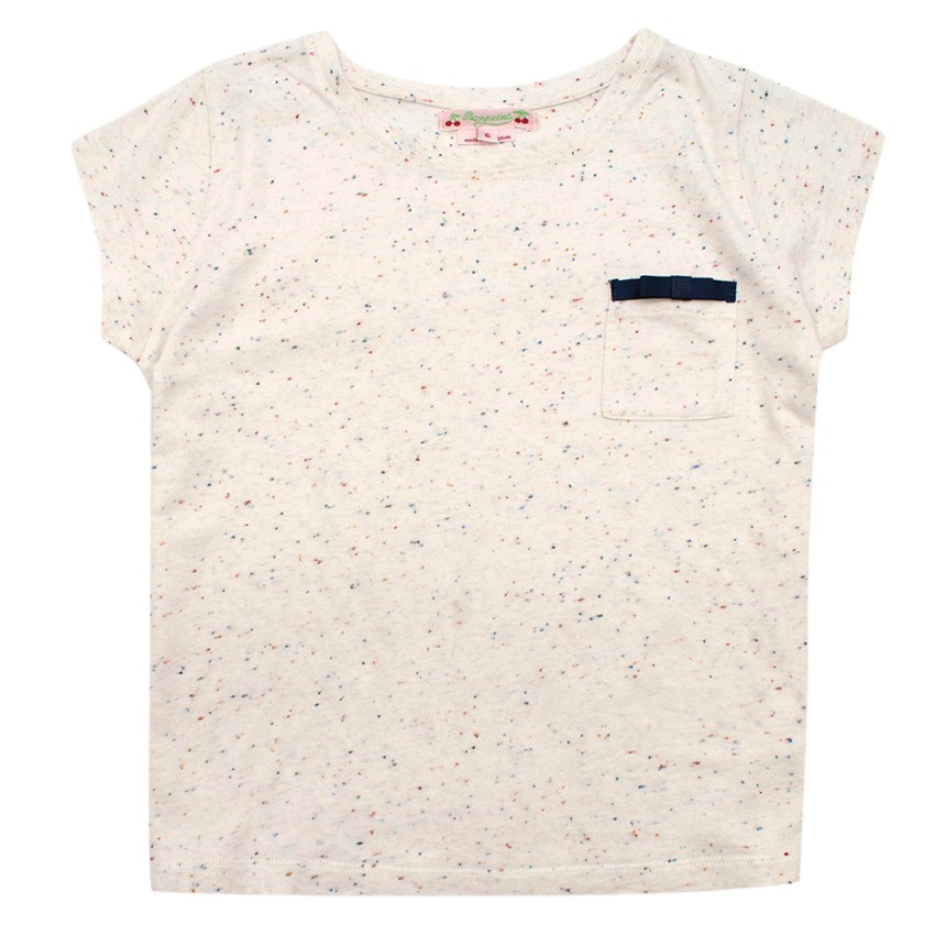 Bonpoint Girls Paint Spotted T-Shirt
