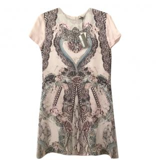 Roberto Cavalli Printed Silk Kids Dress